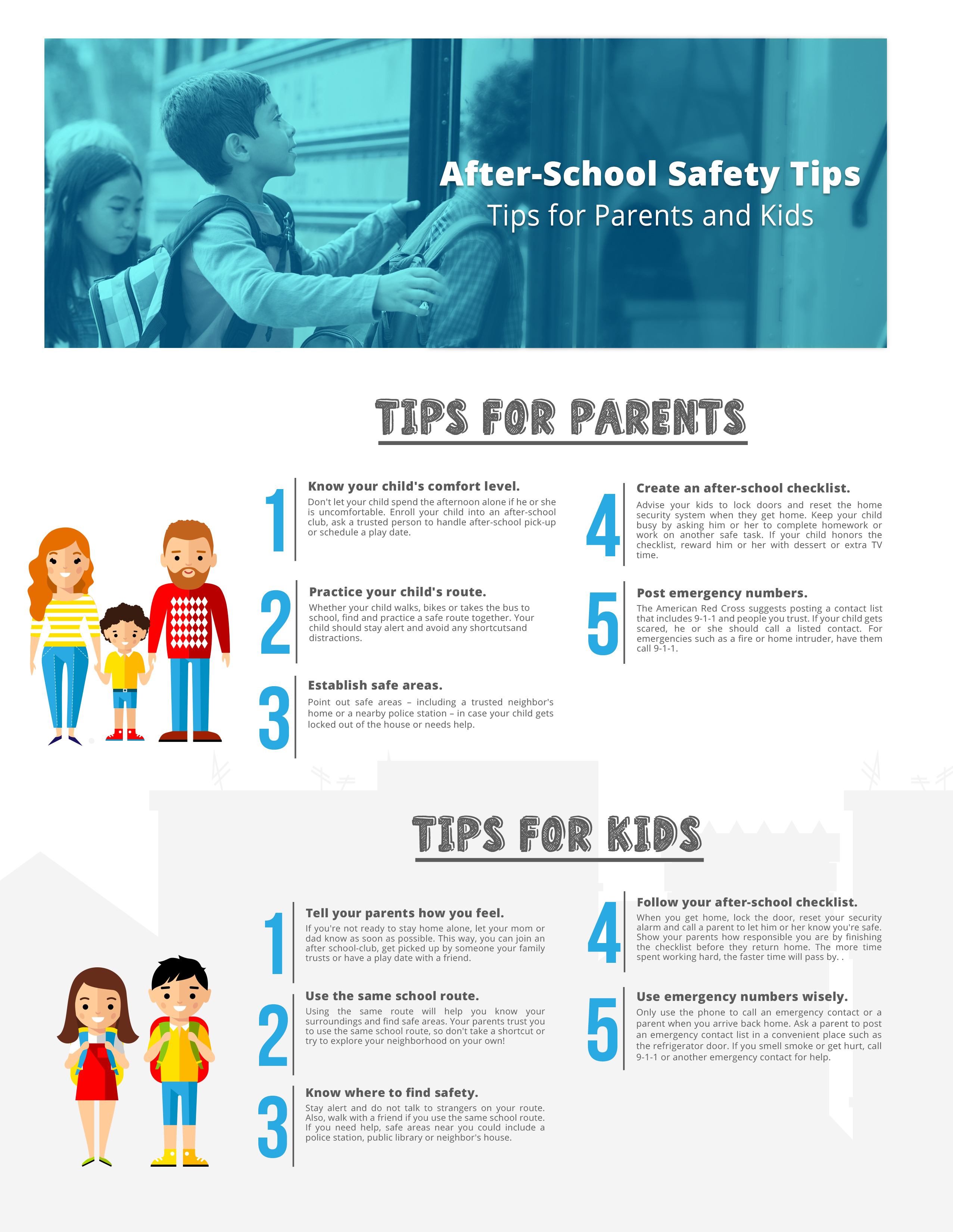 After School Safety Tips For Parents And Kids