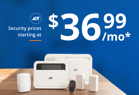 Adt costs starting at $36.99